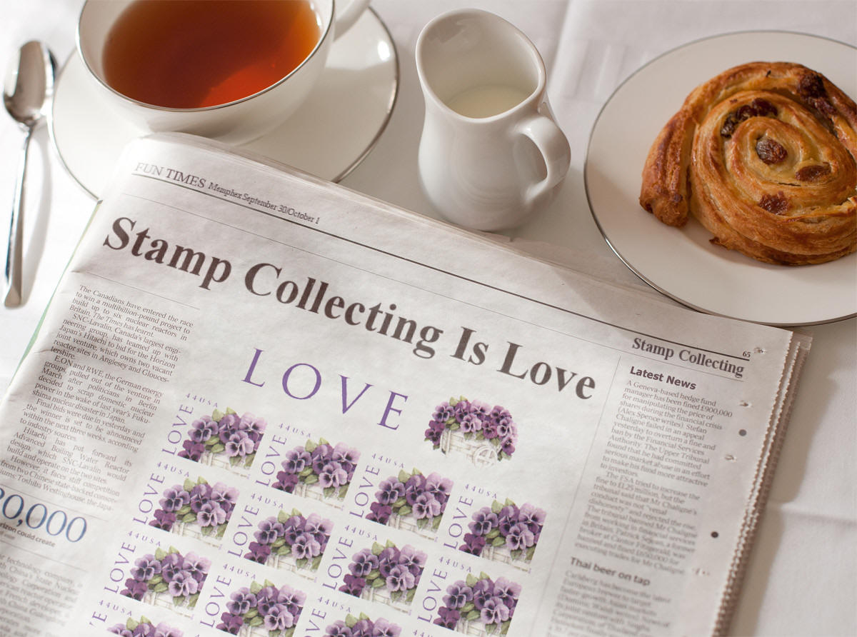 Love Stamps 2010          Scott #4450