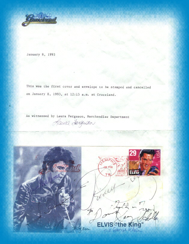 Graceland Letter of Authenticity